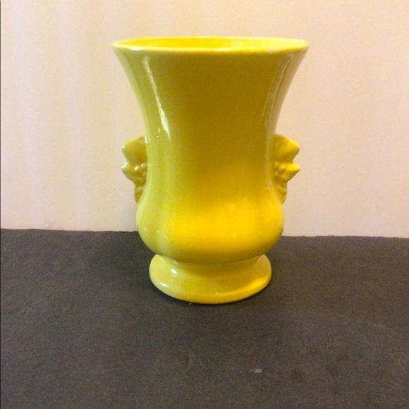 Vintage 1930's Ornate pottery vase